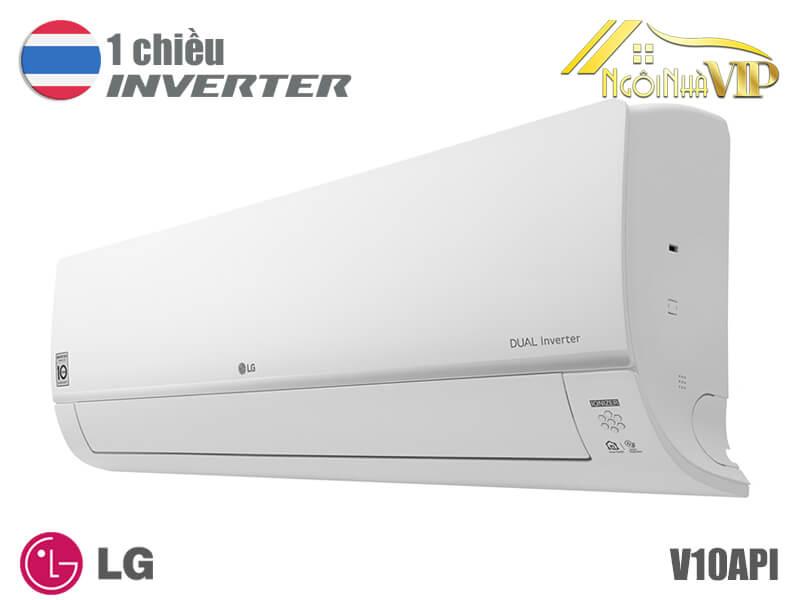 Điều hòa LG V10API 9000Btu 1 chiều Inverter