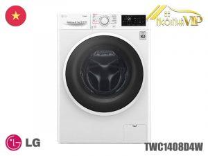 Máy giặt sấy cửa trước LG TWC1408D4W