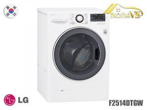 Máy giặt sấy cửa trước LG F2514DTGW