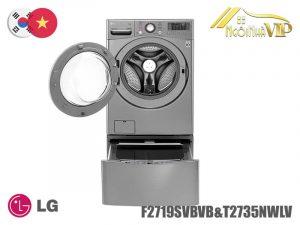 Máy giặt cửa trước LG F2719SVBVB-T2735NWLV